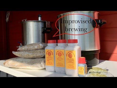 Das unmögliche Bier! Improvisiertes Brauen. Homebrewing IPA.