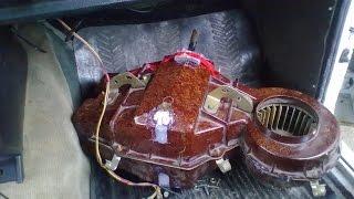 Как снять печку (отопитель салона) с ГАЗ 24 Волга