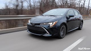 My Week with the Manual 2019 Toyota Corolla Hatchback!