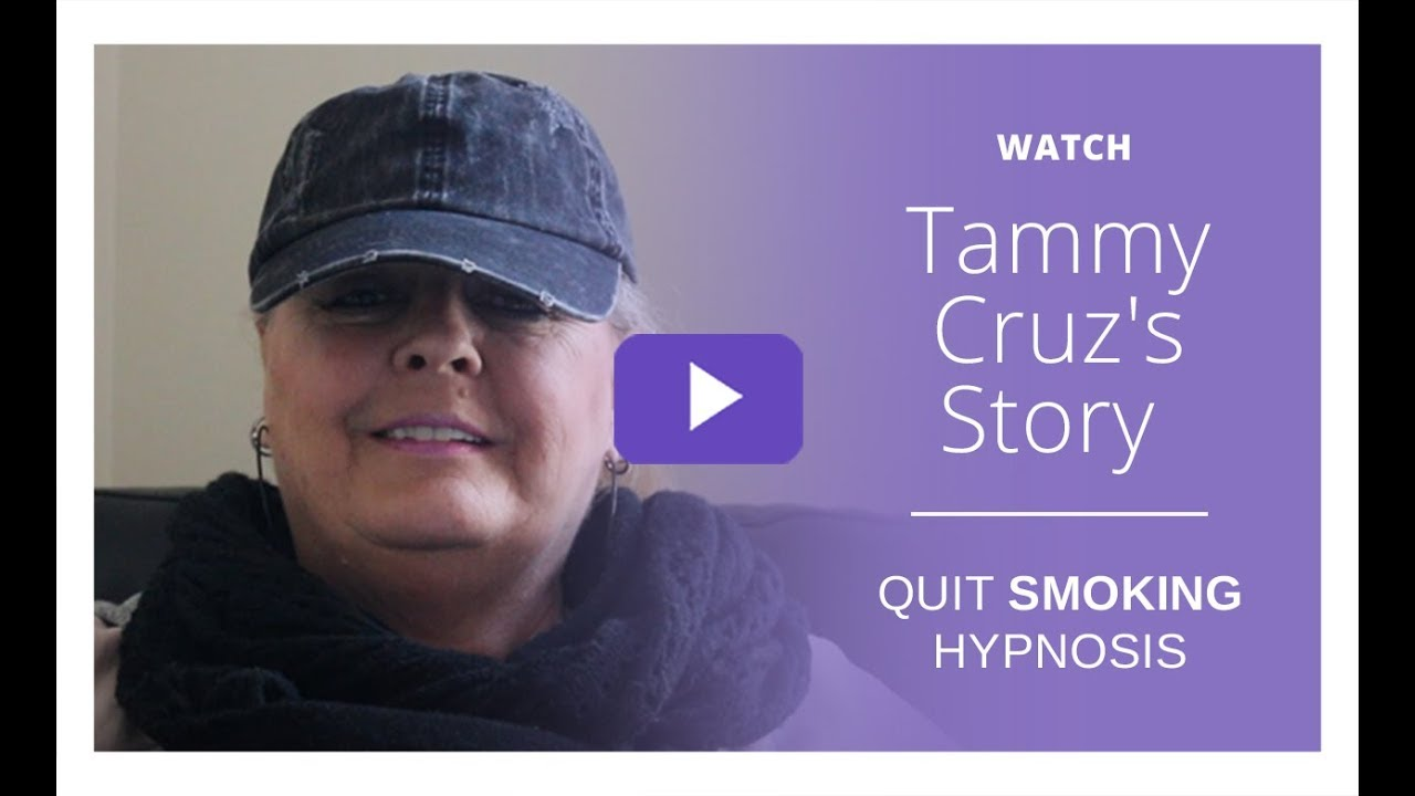 Hypnotherapy to quit smoking forever near me - Watch Tammy ...