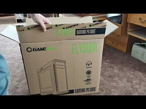 Корпус GameMax Elysium White