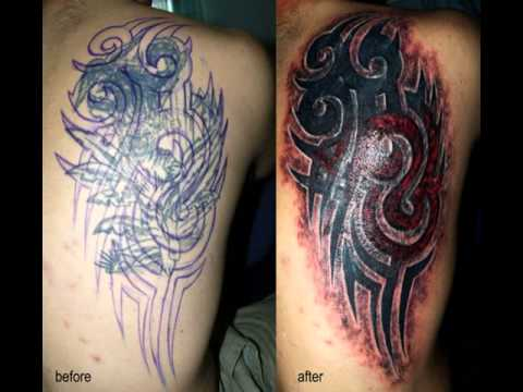 Arm tattoo cover ups youtube for Tattoo sleeve cover up forearm