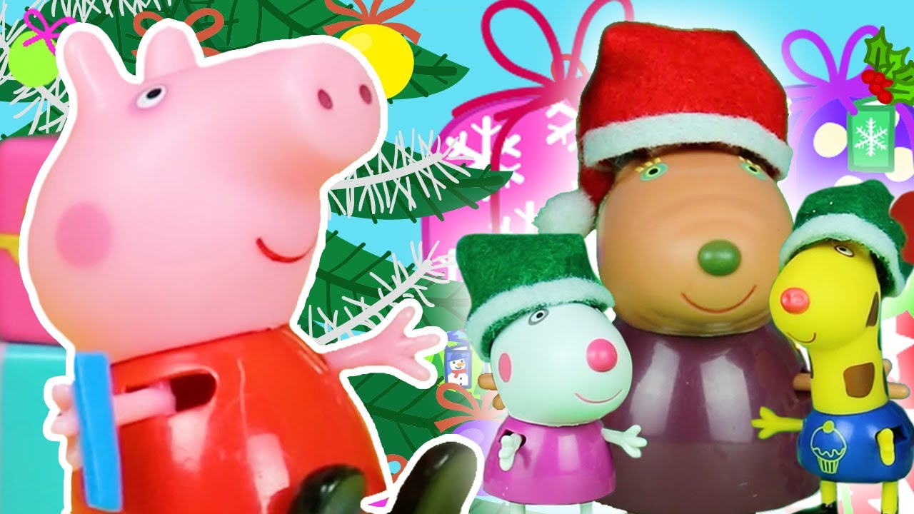 Peppa Pig Official Channel ???? Peppa Pig Stop Motion: Peppa Pig at Christmas Market