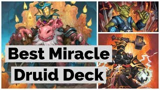 Miracle Togwaggle Druid. Rise Of shadows Wild Hearthstone