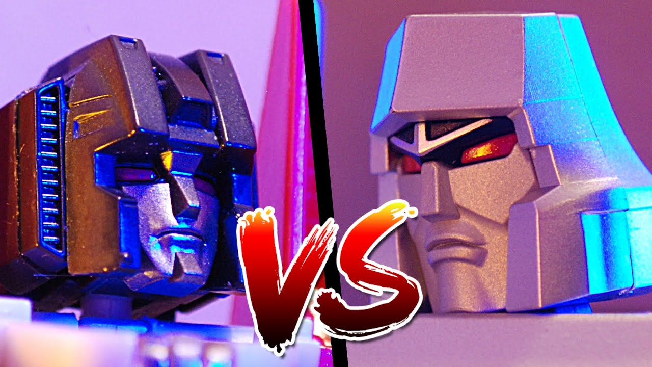 How transformers settle their differences! (it's not what you think)   stop motion