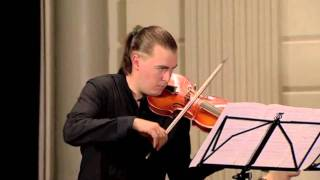 "H.I.F von Biber Sonata  X ""The Crucifixion"", Dmitry Sinkovsky, baroque violin"