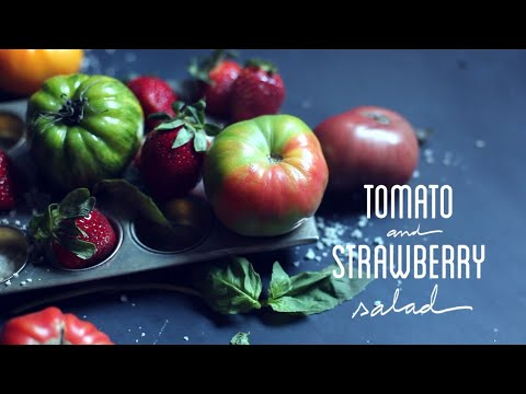 How to make Tomato Strawberry Salad