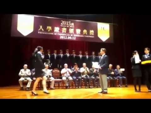 Honours College Class 2015 Admission Ceremony, University of Macau