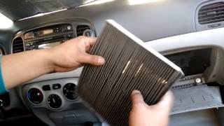 Hyundai accent como cambiar filtro de polen