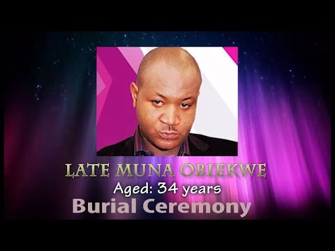Funeral Ceremony Of Late Nollywood Actor Muna Obiekwe.