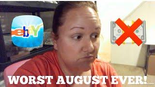 My Worst August Ever | Weekly Ebay Sales | Reseller Vlog