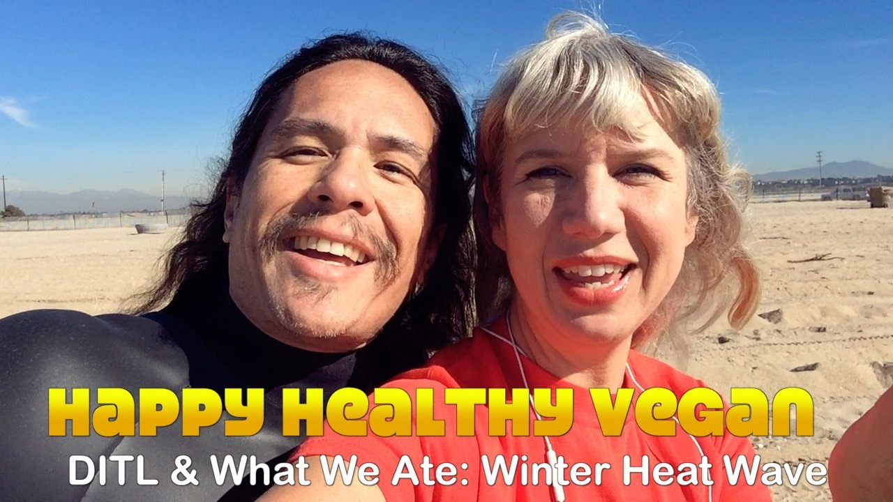 Day In The Life & What We Ate: Winter Heatwave
