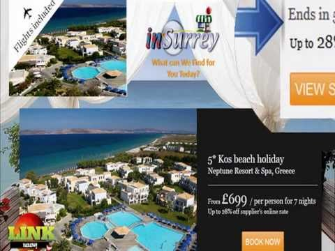 Spa Weekend Breaks -- Up to 25% off 5 STAR Crete holiday  Offer end Sat 27th April 2013
