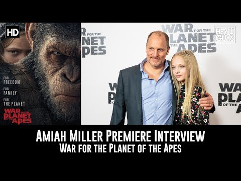 Amiah Miller Premiere Interview - War for the Planet of the Apes
