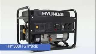 Генератор Hyundai 3000FG газ бензин смотреть