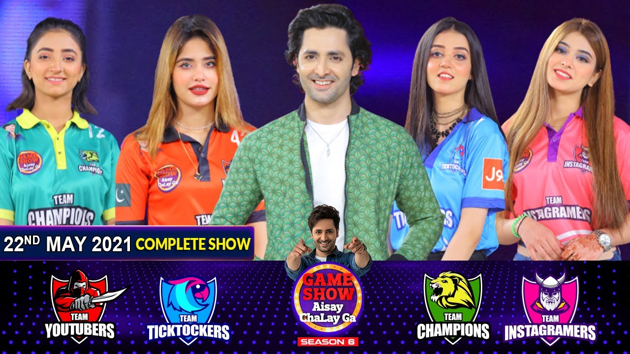 Download Game Show Aisay Chalay Ga League Season 6   Danish Taimoor   22nd May 2021   Complete Show