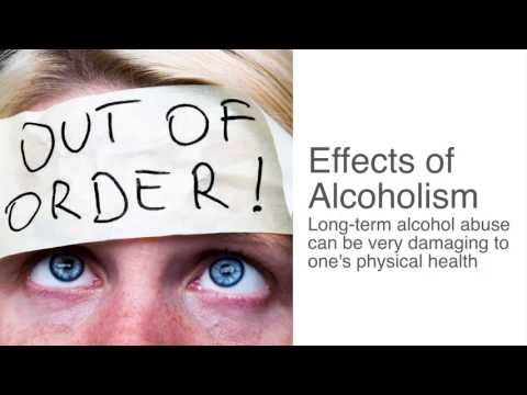 What are the symptoms of alcohol addiction