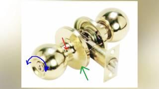 Как разобрать дверную ручку в межкомнатной двери: фото и видео