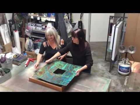 MALOTTE & RAE COLLABORATIVE ARTIST - CREATIVE PROCESS