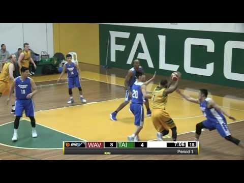 EXHIBITION GAME BigV Waverley Falcons SCM vs Chinese Taipei  29 June 2017