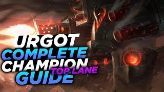 SHOTGUNS FOR KNEES!! - SEASON 8 URGOT GUIDE! - League of Legends