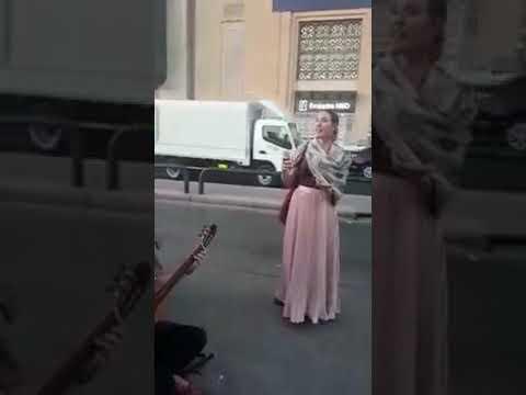 """British Singer Tanya Wells singing """"Chat Chiragh ter"""" in dubai-UAE"""
