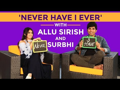 Allu Sirish admits that he once drunk drove | Never Have I Ever | PInkvilla