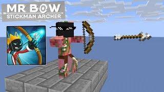 Monster School:MR BOW CHALLENGE-MINECRAFT ANIMATION
