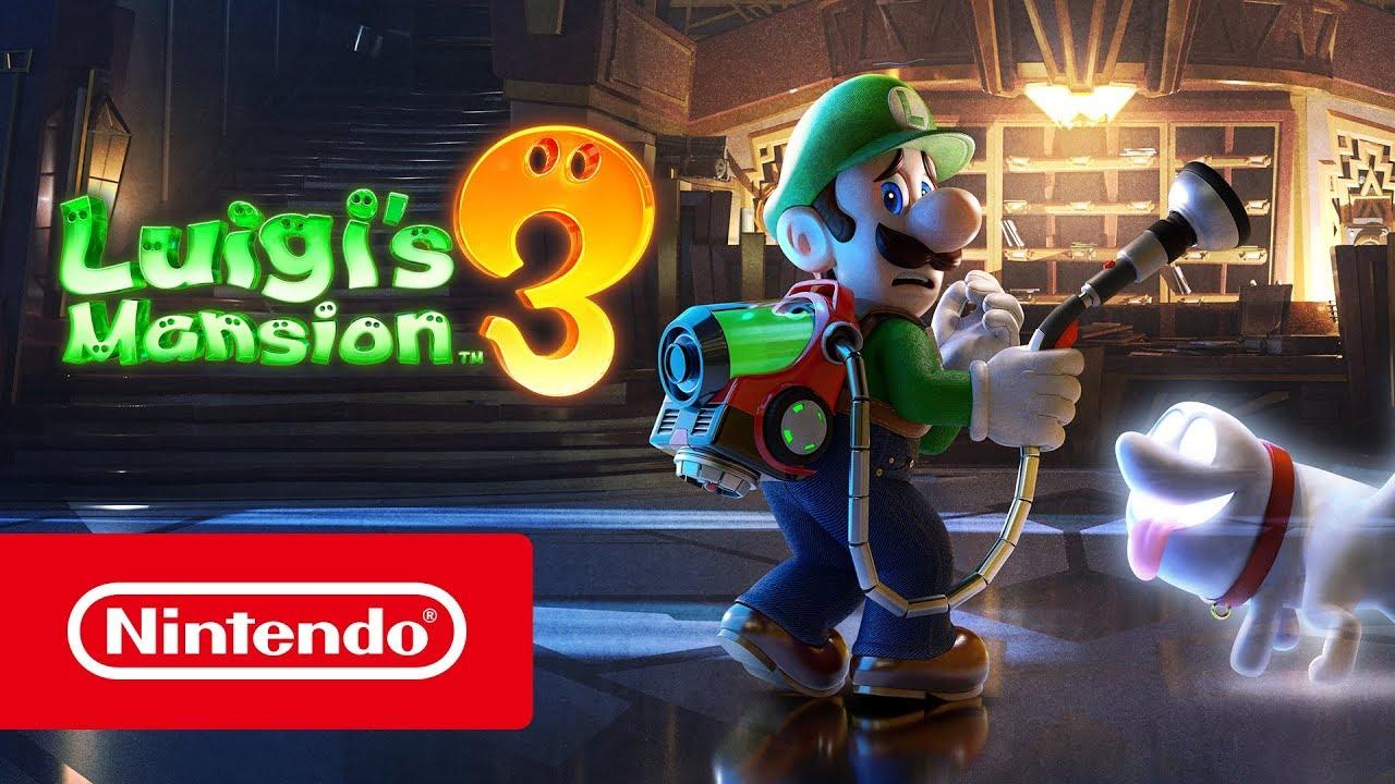 Luigi S Mansion 3 Bande Annonce De L E3 2019 Nintendo Switch
