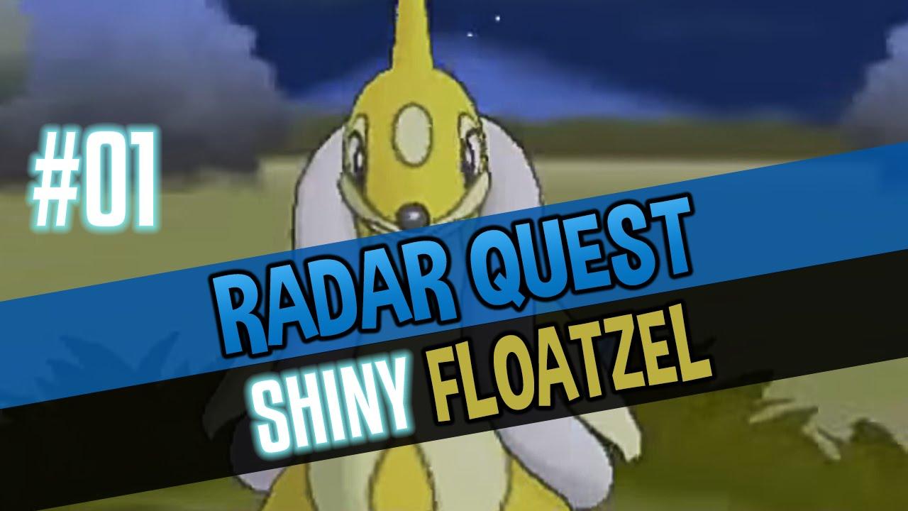 Shiny floatzel pokemon x