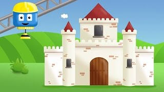 Castle  - Tom & Matt the Construction Trucks | Construction Cartoons in 3D for kids
