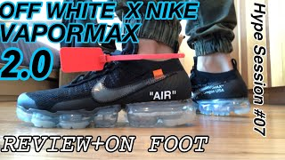IS THE OFF WHITE X NIKE VAPORMAX 2.0 WORTH IT?(UNBOXING+ON-FOOT REVIEW)!!!
