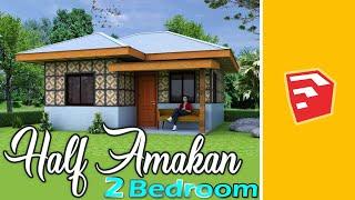 Simple Half Amakan House 36 Sqm