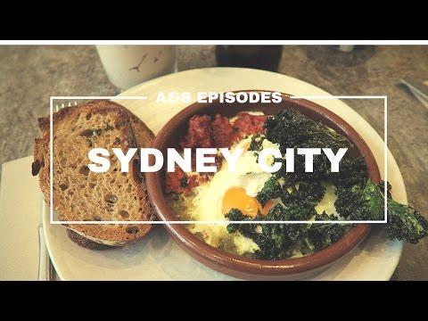 Australia Vlog - SYDNEY CITY - Brunch, Dessert, Dinner (EP 18)