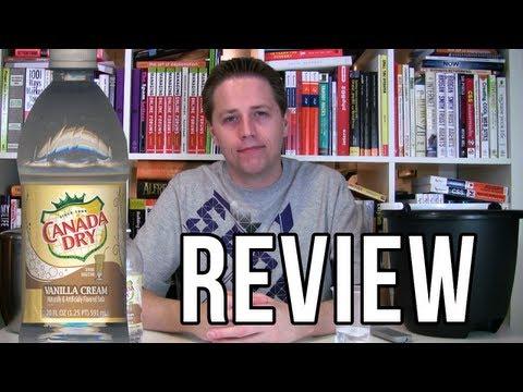 Canada Dry Vanilla Cream Review (Soda Tasting #43)