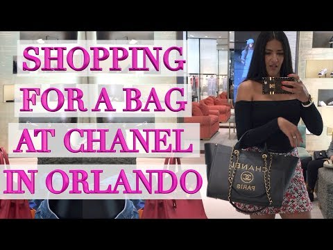 Luxury Shopping at Orlando Millenia Mall - Chanel & Louis Vuitton