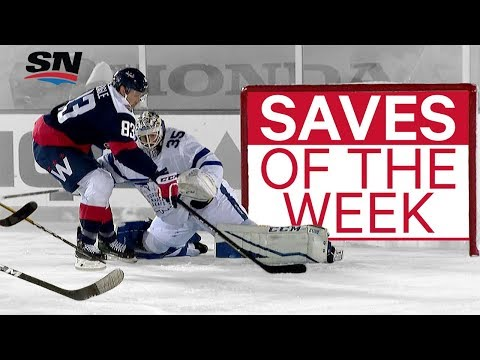 NHL Saves of the Week: McElhinney stretches out