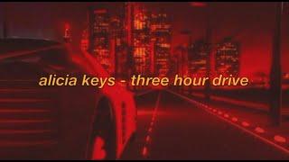alicia keys - 3 hour drive ft. sampha (with lyrics) FOR 3 HOURS