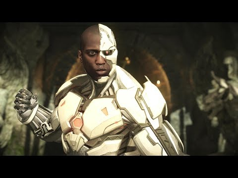Injustice 2 : Cyborg All Intro Dialogues