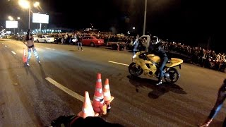 PitBike VS SuperSport Bike, Moscow