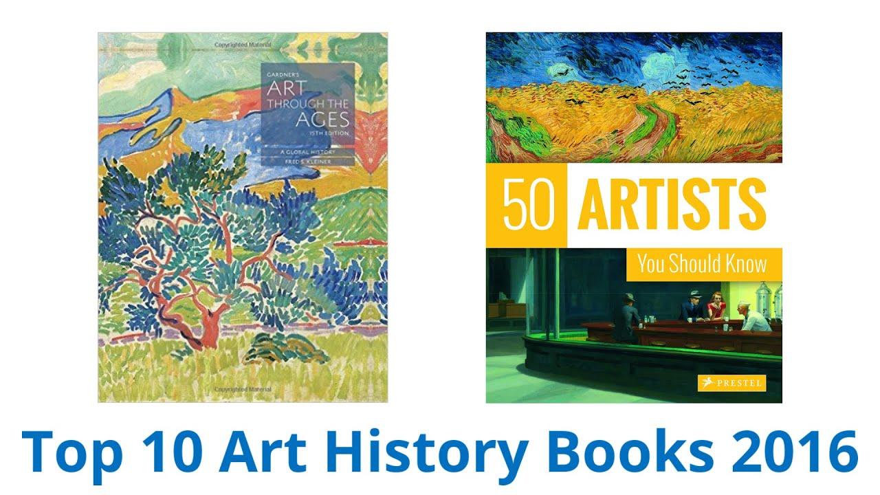 10 Best Art History Books 2016