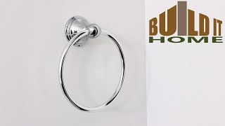 Installing A Towel Ring On Drywall