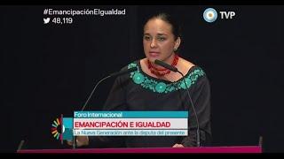 Intervención de Gabriela Rivadeneira en Foro Emancipación e Igualdad en Argentina