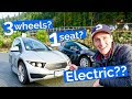 Is a 3 wheeled electric car the FUTURE of commuting? - SOLO