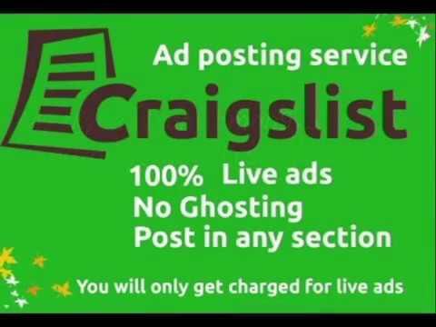 Craigslist Ad Posting Service