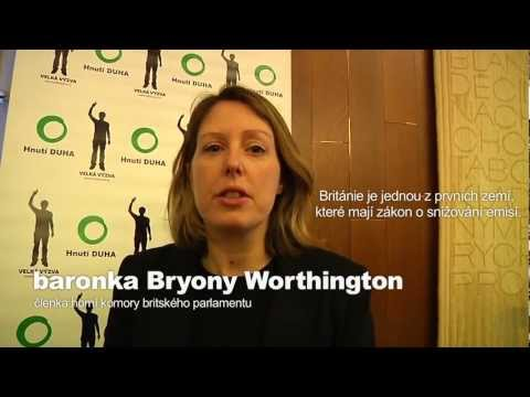 Konference Chytrý zákon pro moderní ekonomiku - Bryony Worthington