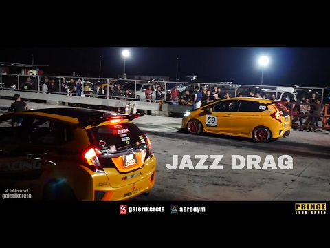 Honda Jazz Drag Race - Songkhla International Speedway 2017