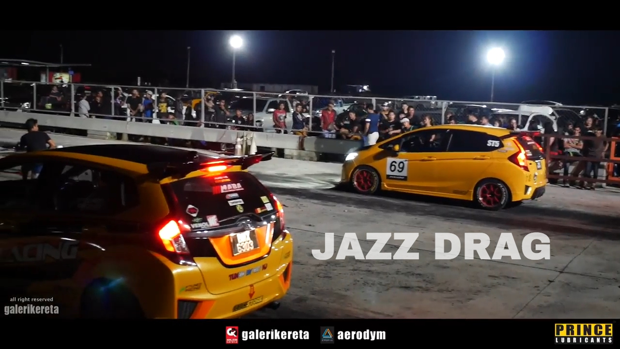 Honda Jazz Drag Race Songkhla International Speedway 2017 Youtube