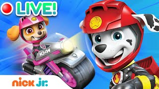 🔴LIVE: Meet the PAW Patrol Moto Pups! | Nick Jr.