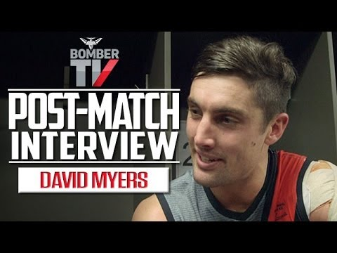 BTV: Round 16, 2014 - David Myers post-match interview